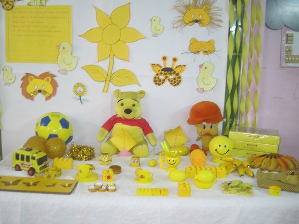 yellow day celebration in preschool yellow colour day bachpan ameerpet 289
